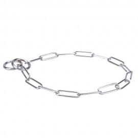 Verchromtes Kette Halsband für Schäferhund-Erziehung und Gehorsam Trainings