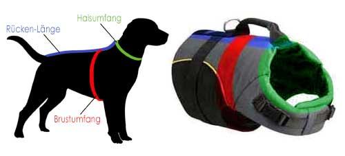 Hundegeschirr mit Griff, Hundeweste Labrador