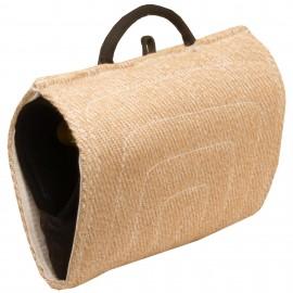 Hetzarm für Schäferhunde aus Jute mit Außen- und Innen-Handgriffen