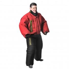 Schutzbekleidung aus dichtem Stoff für Training und Dressur
