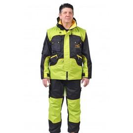 Sportkleidung für Schäferhunde-Trainers in greller Farbe