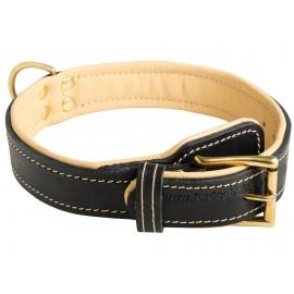 Royales Halsband für Deutschen Schäferhund, weich gepolstert