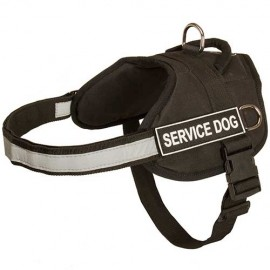 Reflective Tracking Dog Harness for Shepherd Dog