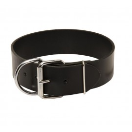Extra Wide Leather Collar