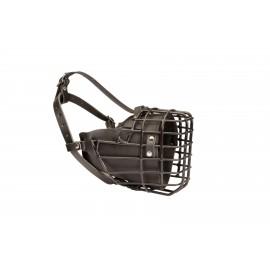 Drahtmaulkorb mit Gummiüberzug für Schäferhund