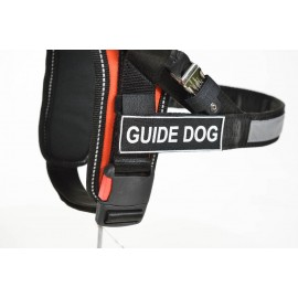 Guide Dog German Shepherd Harness of Black Nylon