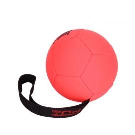 German Shepherd Orange Inflatable Ball, 12 cm with Handle
