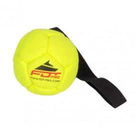 Grüner Hüpfball für Schäferhunde 15 cm mit Schlaufe