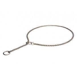 Schäferhund Halsband in Form der Kette, dünn und spitzenqualitativ