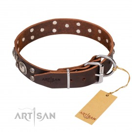 "GSD Collar Leather ""Vintage Necklace"""