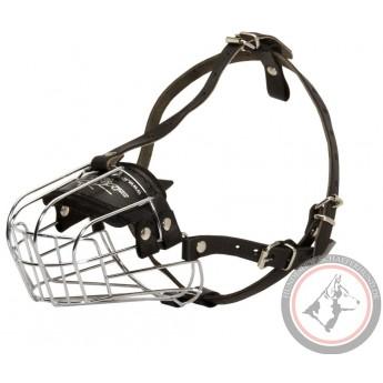 Bequemer Hundemaulkorb Metall K9 für Labrador handgefertigt