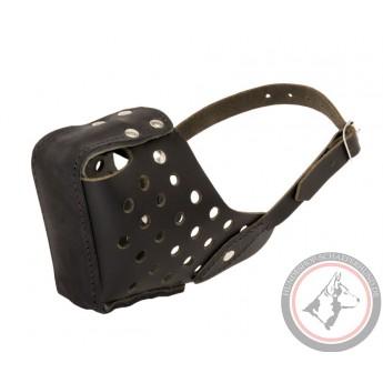 Leather Muzzle for Shepherd Training