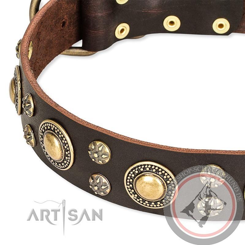 luxus Hundehalsband für Schäferhund kaufen